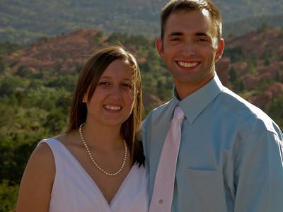 Stephen & Catherine Bahn's Wedding - Garden of the Gods, Colorado - August 2009