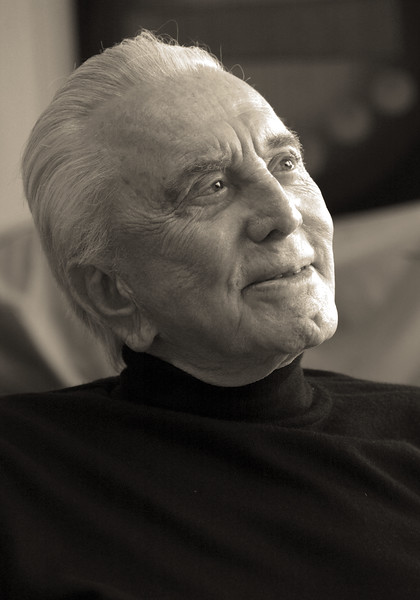 Kirk Douglas by Christopher Briscoe