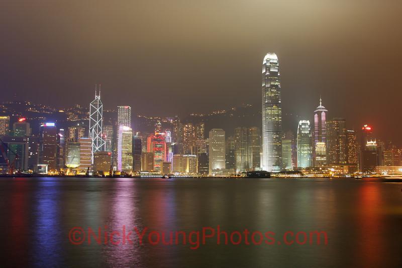 HDR of Hong Kong Island