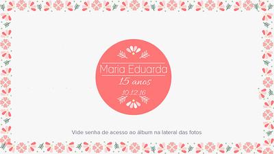 Maria Eduarda 10-12-16