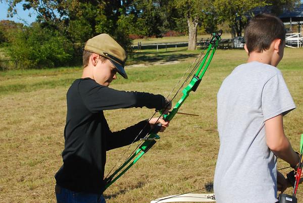 Archery Practice 111013