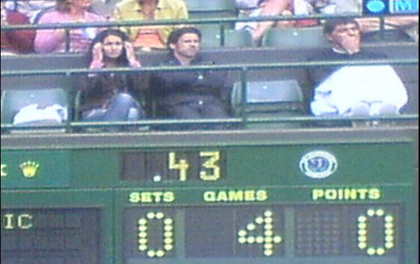 2006 Wimbledon - On court