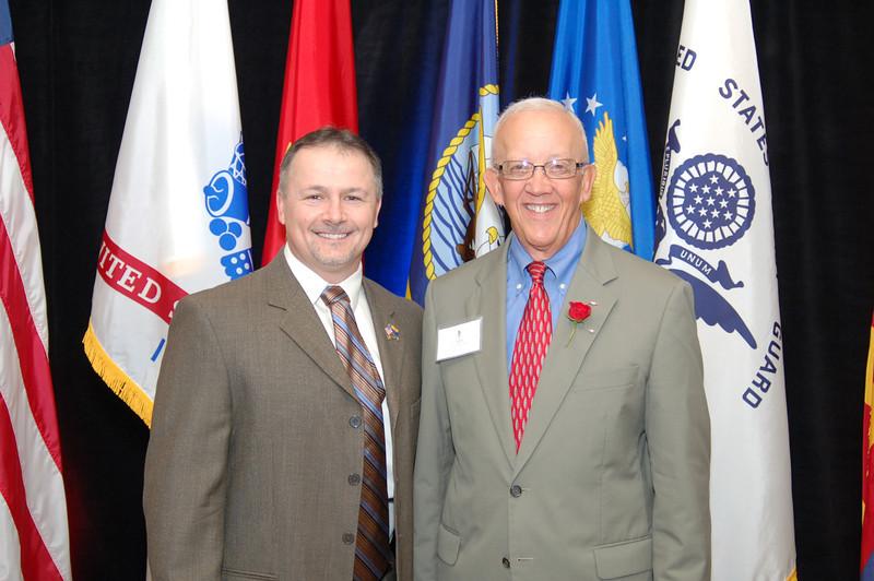 Mike Broomhead & Lt. Gen. Blanck
