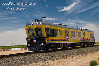 Union Pacific Track Inspection Vehicle