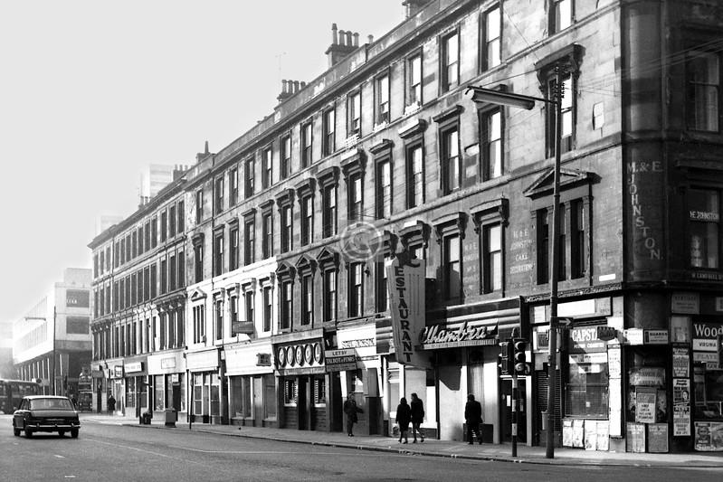 Argyle St west of West Campbell St.    April 1974