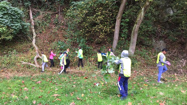 10.11.2017 Environmental Outreach Day with Hollifield Station Elementary School at Daniels area of PVSP
