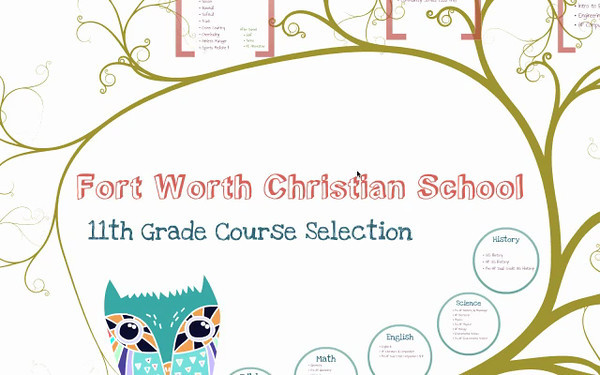 11th grade course selection