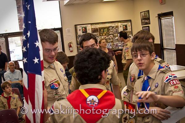 2009 Sam's Eagle Ceremony