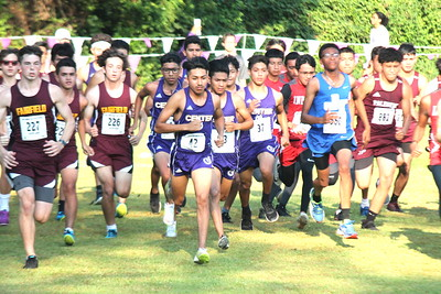Center Cross Country runners have strong showing at SFA Invitational Meet