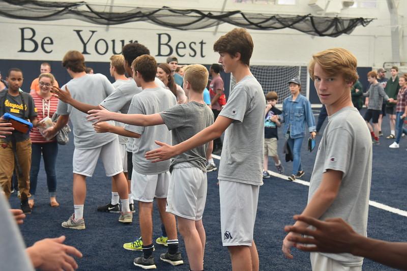 Boys' V Soccer and New England Center for Children 9.18