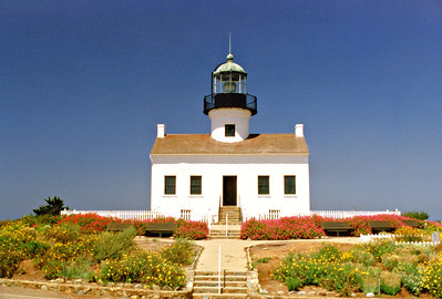 Old Point Loma Light, California