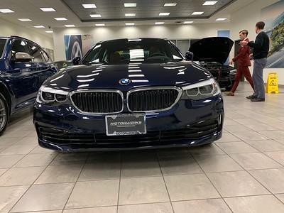 New BMW 530e