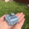 2.85ct Antique Cushion Cut Diamond Halo Ring 37