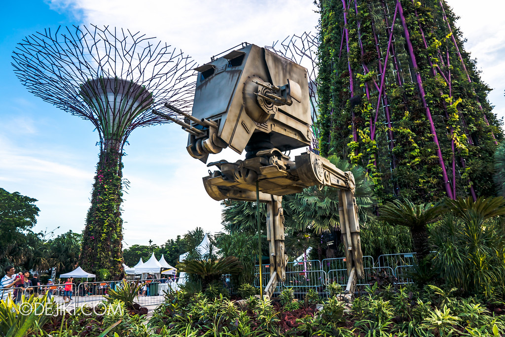 Gardens by the Bay - Star Wars Day 2017 - ATST hero