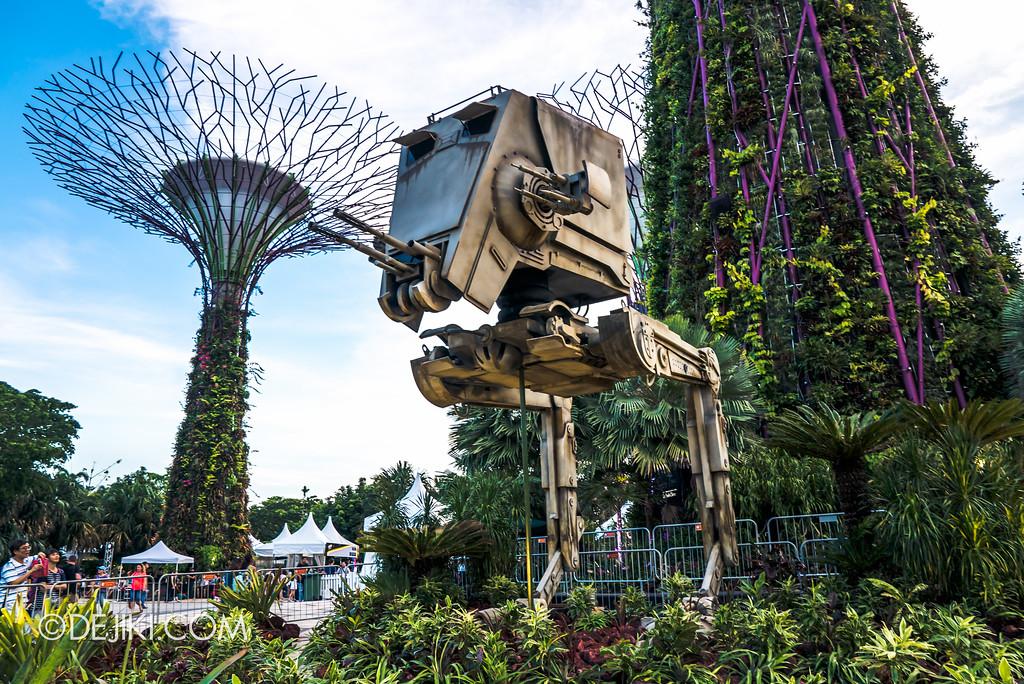 Gardens by the Bay - Star Wars Day 2017 - ATST hero
