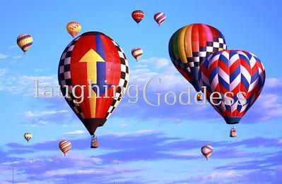 Hot Air Balloons & Sky