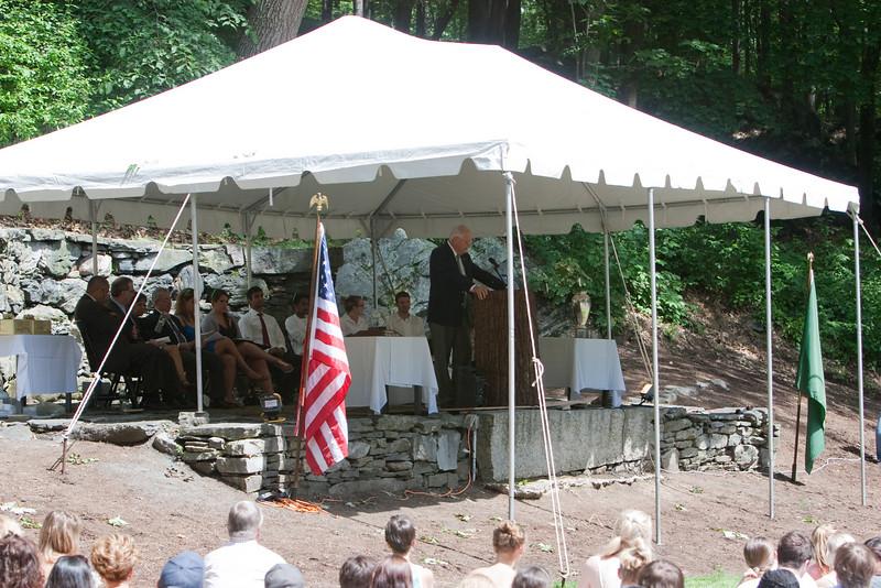 Day 3 - President Wright spoke