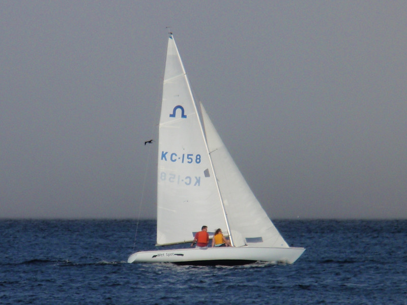 Soling with Fog Backdrop