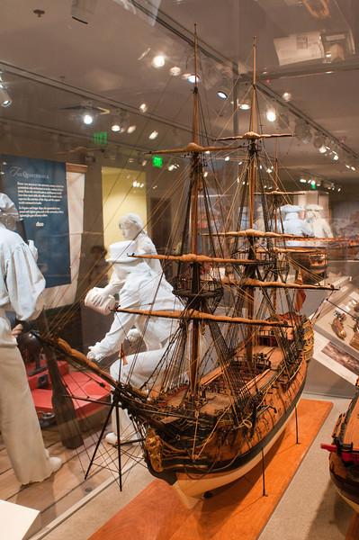 2009-10-03 - USNA Museum - 038 - Duke - 2nd Rate 98-Gun Ship of 1777 - _DSC7420.jpg