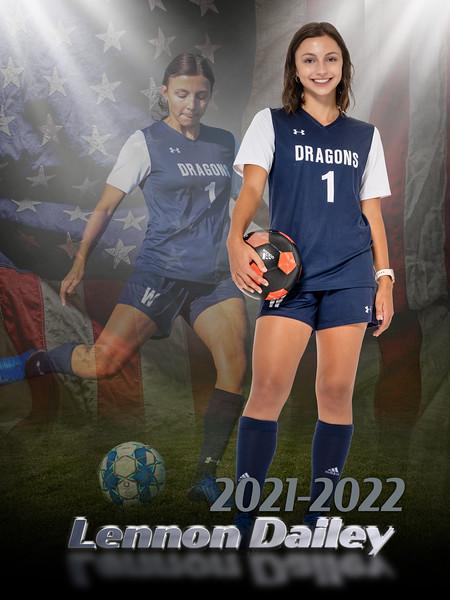 WAHS Lady Dragon Soccer 2021-2022