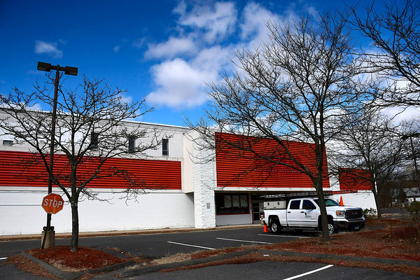 2/27/2020 Mike Orazzi | Staff The former Staples in Bristol along Route 6.
