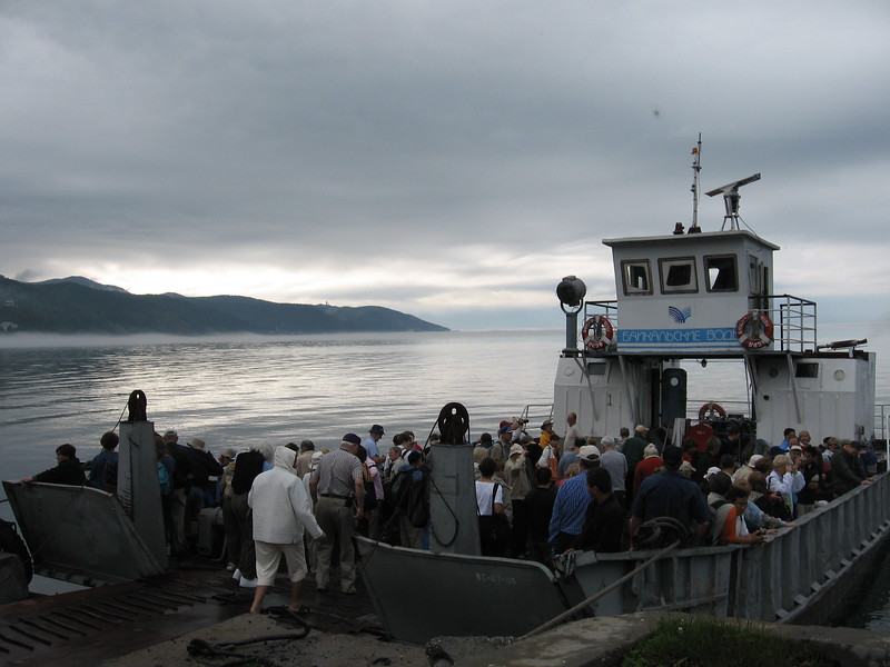 Lake Baikal ferry - Leslie Rowley