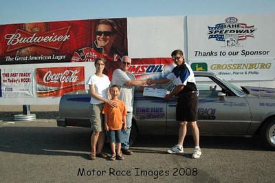 Winners Circle July 5, 2008