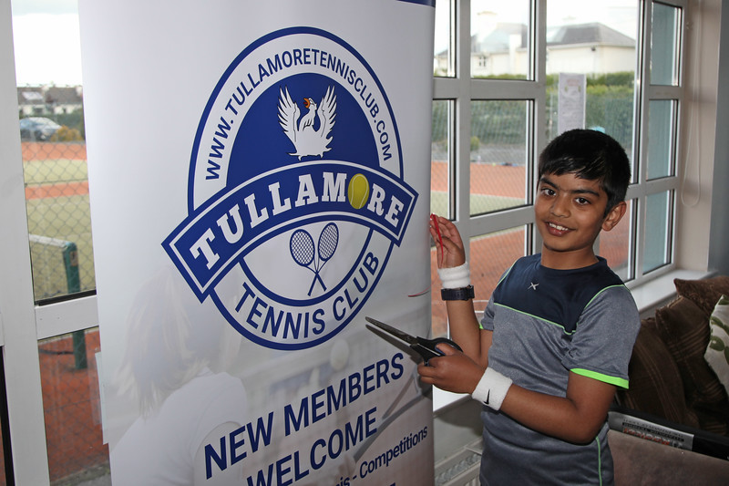 Tullamore Tennis Club's open night on Monday - 17th June 2019     Picture. Niall O'Mara