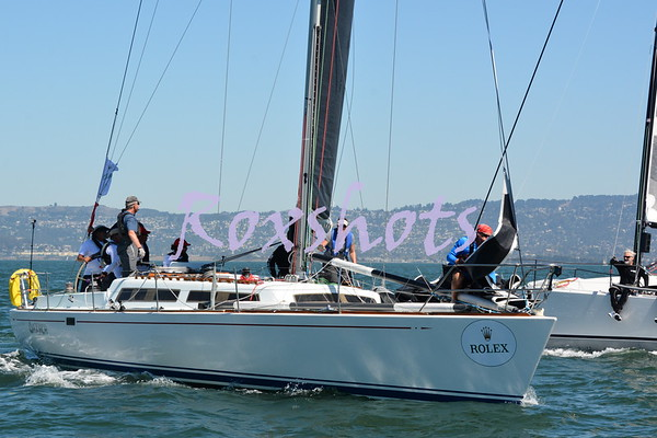 Rolex BBS, Day #3, Sat. 9/19/15 from the committee boat Anabel on the TI course