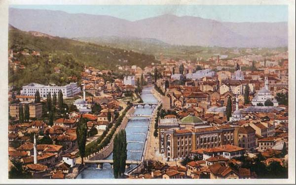 Sarajevski mostovi poslije izvrsene regulacije toka rijeke Miljacke (1886-1897)x.jpg