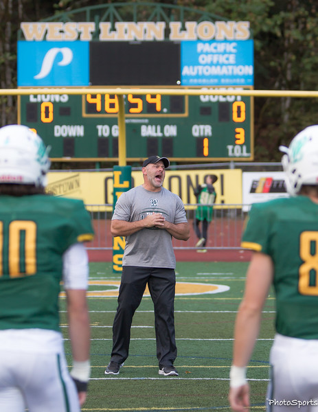 West Linn vs. Tualatin September 23, 2016