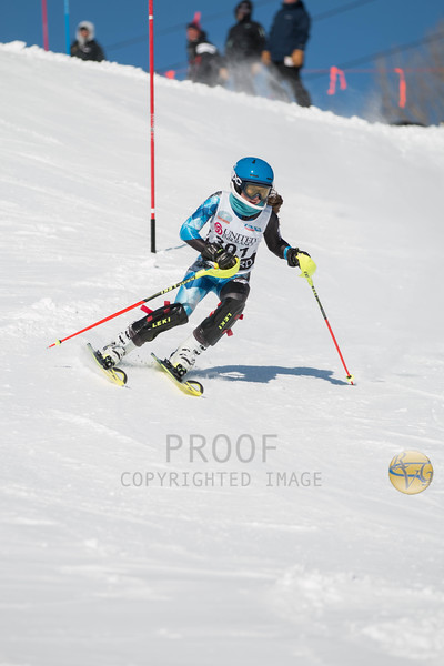 Women's Slalom 1st Run