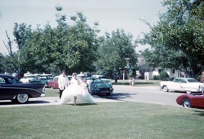 1961 Family Margaret and Jack Wedding