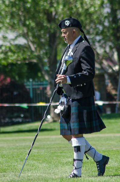 Scott at the Scottish Festival 2013