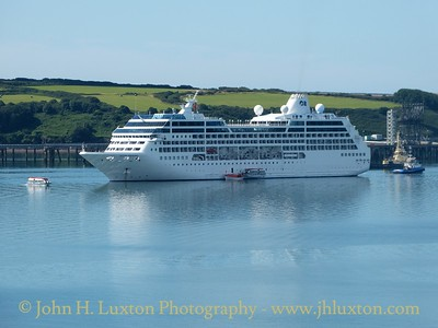 Ocean Princess at Milford Haven - August 11, 2015