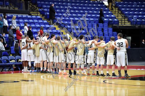 Berks Catholic vs Conrad Weiser Boys Basketball Semi-Finals 2014 - 2015