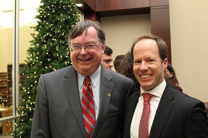 Chancellor Young & Stephen Zralek
