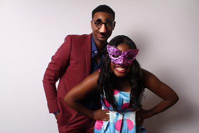 Bethany & Marquis Wedding Photo Booth 8.23.14