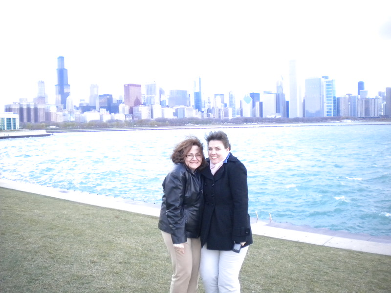 Meetings Administrator, Melissa Benowitz and Executive Director, Nicole Ratner