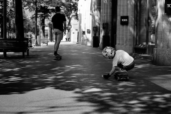skating in zürich