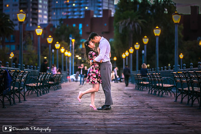 John & Monica's Engagement Photoshoot