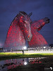 Kelpies at night 1