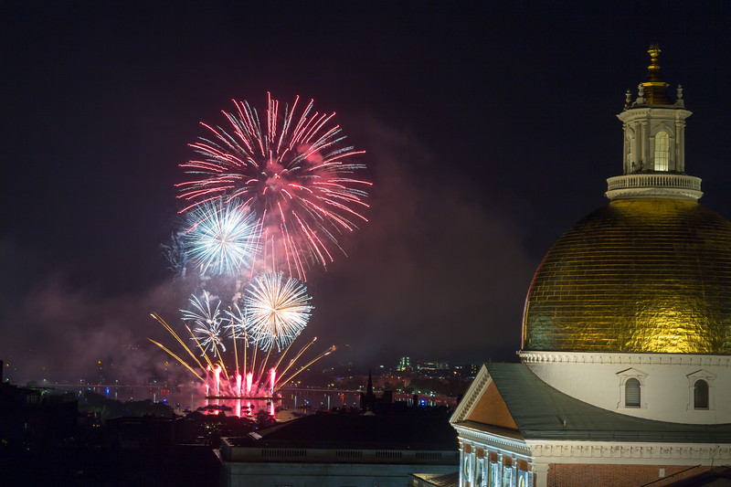 2017-07-04 July 4th Boston Fireworks