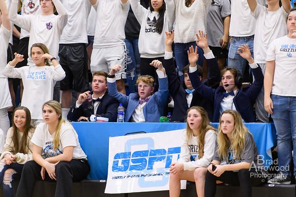 Oak Grove Basketball vs East Davidson