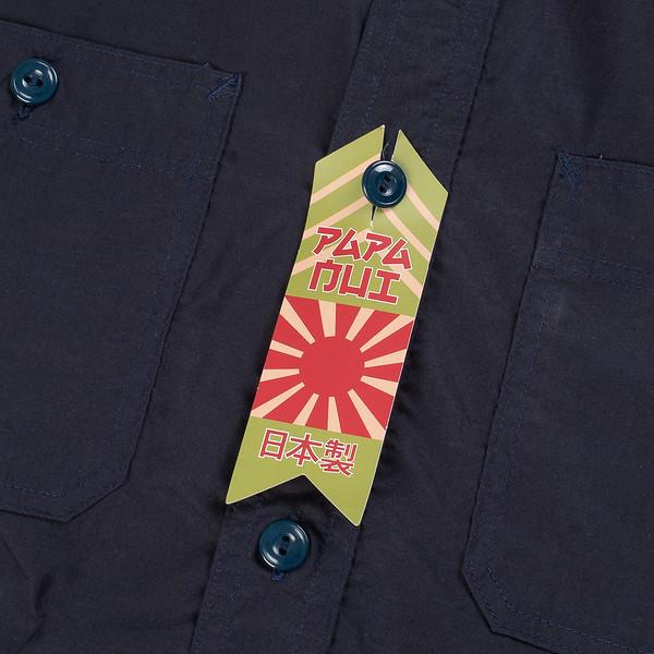 Papa Nui Tarawa Shirt - Navy-1789.jpg