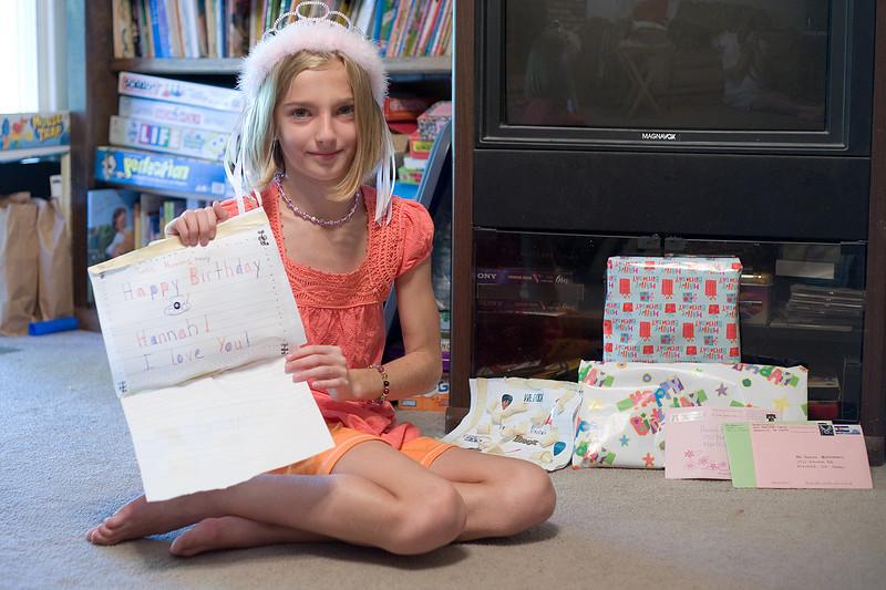 Hannah's 11th Birthday