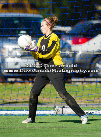 11/4/2012 - Girls Varsity Soccer - MIAA D1 South Round 1 - Plymouth South vs Needham