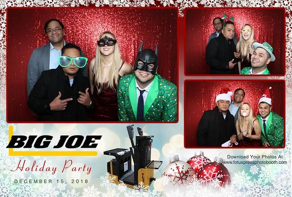 Big Joe Holiday Party 2018