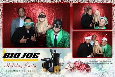 Big Joe Holiday Party 2018