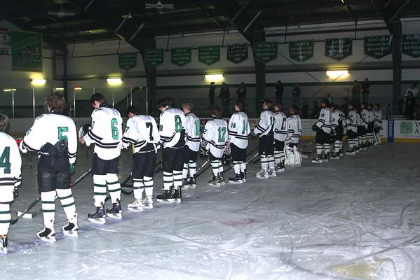 WUHS Boys Hockey  vs Rutland, 2014